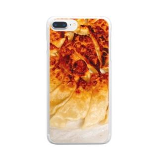家の餃子 Clear smartphone cases