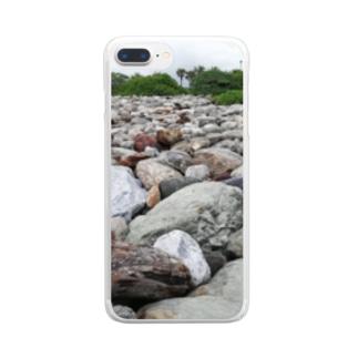 RIRI_designのコロコロROCK Clear smartphone cases