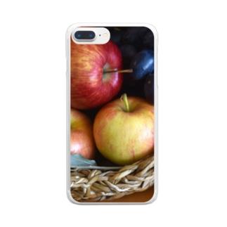 アップルバスケット Clear smartphone cases