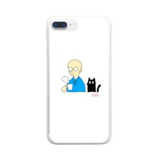 湯気 Clear smartphone cases