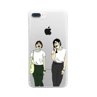 ベストフレンズ Clear smartphone cases