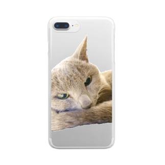 こはくさん/アンニュイ写真 Clear smartphone cases