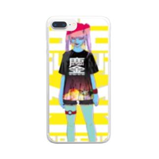 みなごろしちゃん_001 Clear smartphone cases