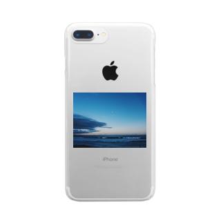 日暮海 Clear smartphone cases