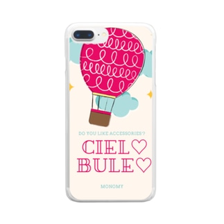 HYDELOVEのCiel♡Bule♡ Clear smartphone cases