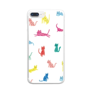 cats Clear smartphone cases