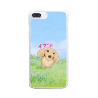 麗しの愛し子『イブ』🐾 Clear smartphone cases