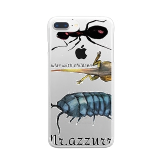 Mr.azzurroのPopular with children Clear smartphone cases