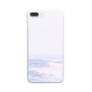 unicorn sea Clear smartphone cases