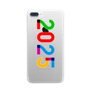 marikiroの2025_西暦 Clear smartphone cases