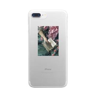 きまぐれのすべておもいどおり Clear smartphone cases