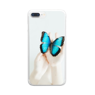 Morpho Clear smartphone cases