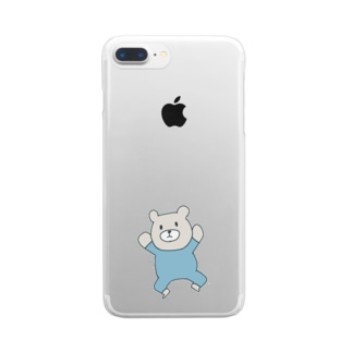 Baby Bear Clear smartphone cases