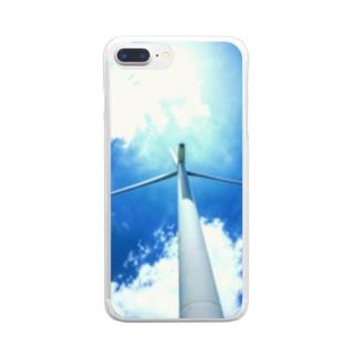 空と風 Clear smartphone cases