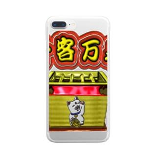 満員御礼 Clear smartphone cases
