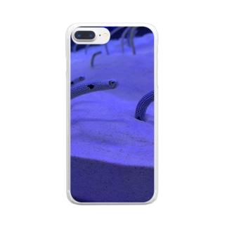 何を見てるの? Clear smartphone cases