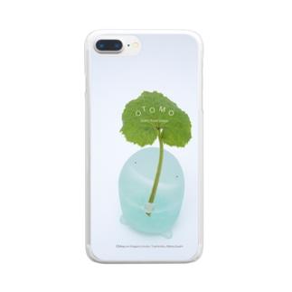 はっぱのカサ♪ Clear smartphone cases