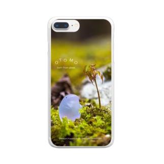 新芽みあげる Clear smartphone cases