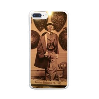 ハイタワー三世 Clear smartphone cases