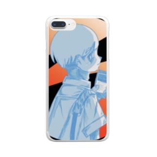 焦がれ損 Clear smartphone cases