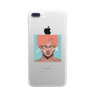 🧨なやみの素🧨のヤイバくん Clear smartphone cases