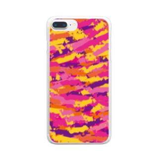 柄 Clear smartphone cases