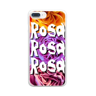 ROSE.ROSE.ROSE.30 Clear smartphone cases