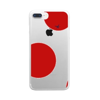 my04のドットマト Clear smartphone cases