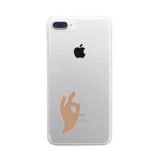 なかむらさんのmiroku Clear smartphone cases