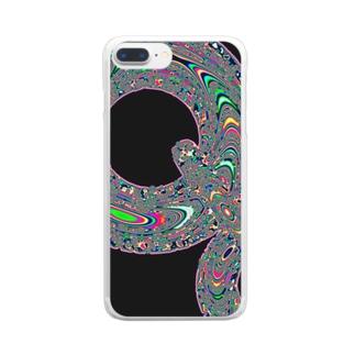 naysok_orgのTorus_03 Clear smartphone cases