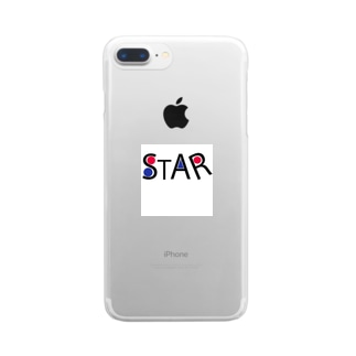 STARシリーズ Clear smartphone cases