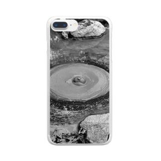 地獄めぐりシリーズ Clear smartphone cases