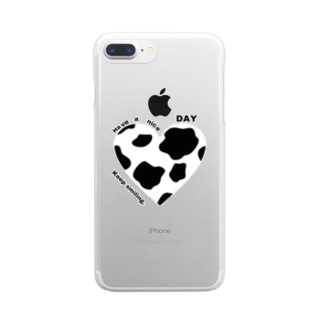 happy DAY Clear smartphone cases