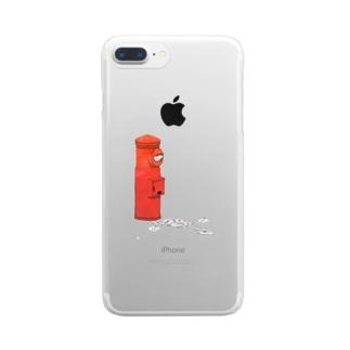 恋心 Clear smartphone cases