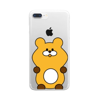 これは よい くま Clear smartphone cases