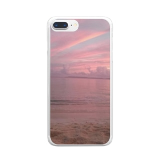 love ocean Clear smartphone cases