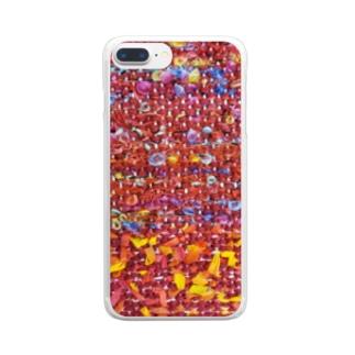 夕焼け/カヨサトーTX Clear smartphone cases