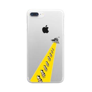 アブダクション シリーズ part2 Clear smartphone cases