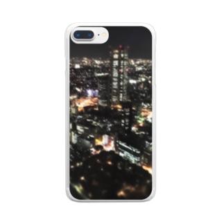都庁1 Clear smartphone cases