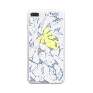 ひび割れ Clear smartphone cases