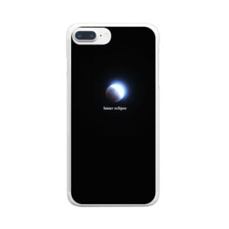 月食 Clear smartphone cases