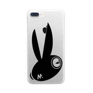 ラビッツマーケット@音楽メディアの公式グッズのえむらび Clear smartphone cases