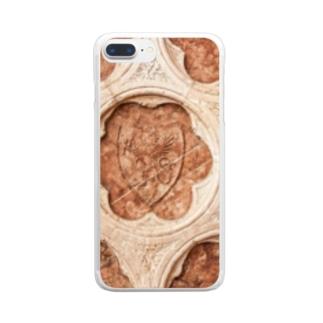 ロゼッタ Clear smartphone cases