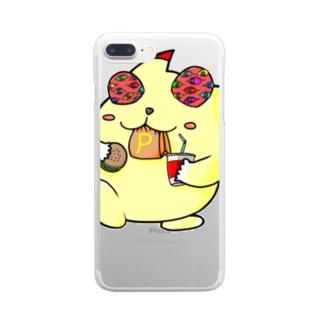 ぴか屋さんの超グッズ Clear smartphone cases