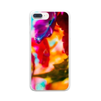 梅雨晴れ Clear smartphone cases