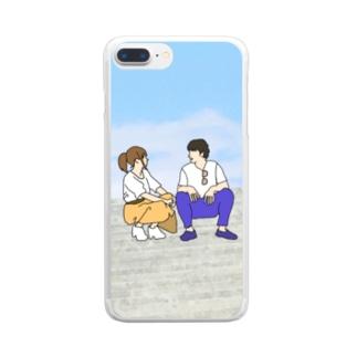 恋人の休日 Clear smartphone cases