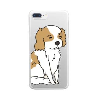 無の境地 Clear smartphone cases