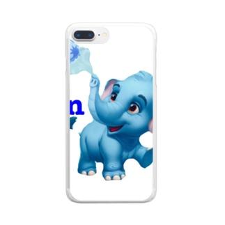 猫族*犬族の部屋の猫族*犬族の部屋『Ren』2 Clear smartphone cases