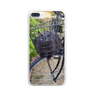 ギズモの大冒険 Clear smartphone cases