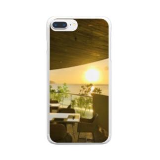 グアムの景色 Clear smartphone cases